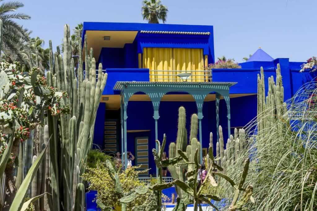 jardin majorelle museum marrakech