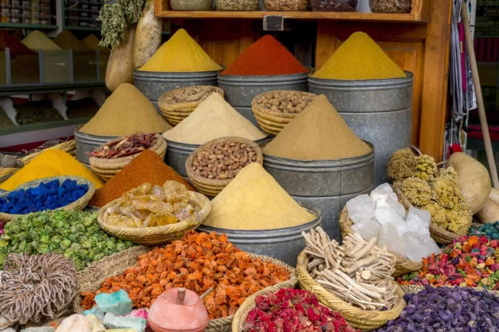 marrakech spice market