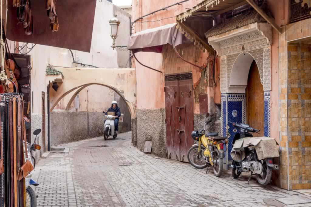 marrakech kasbah motorist