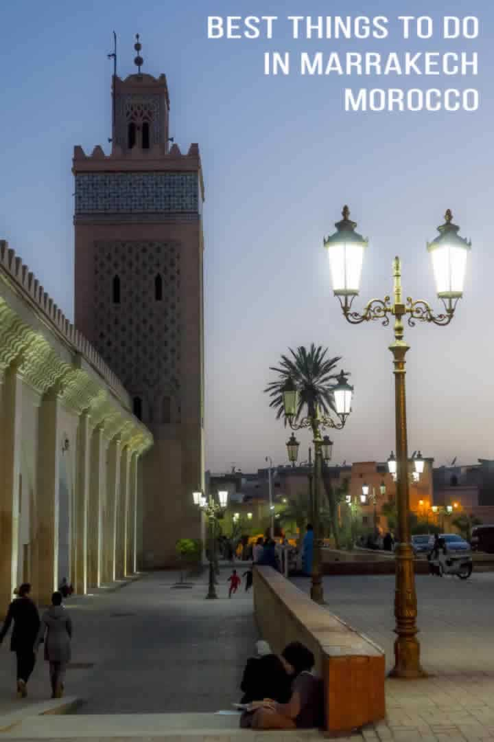 Best 10 things to do in Marrakech