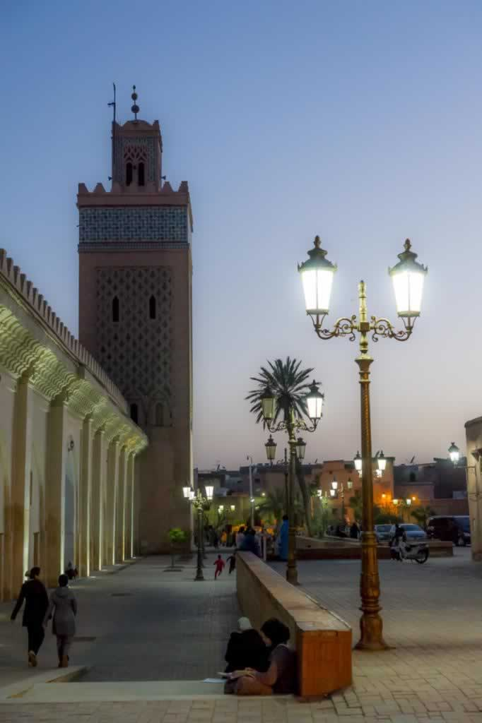 marrakech lights night smooth