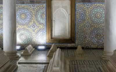 The Saadian Tombs in the Kasbah of Marrakech