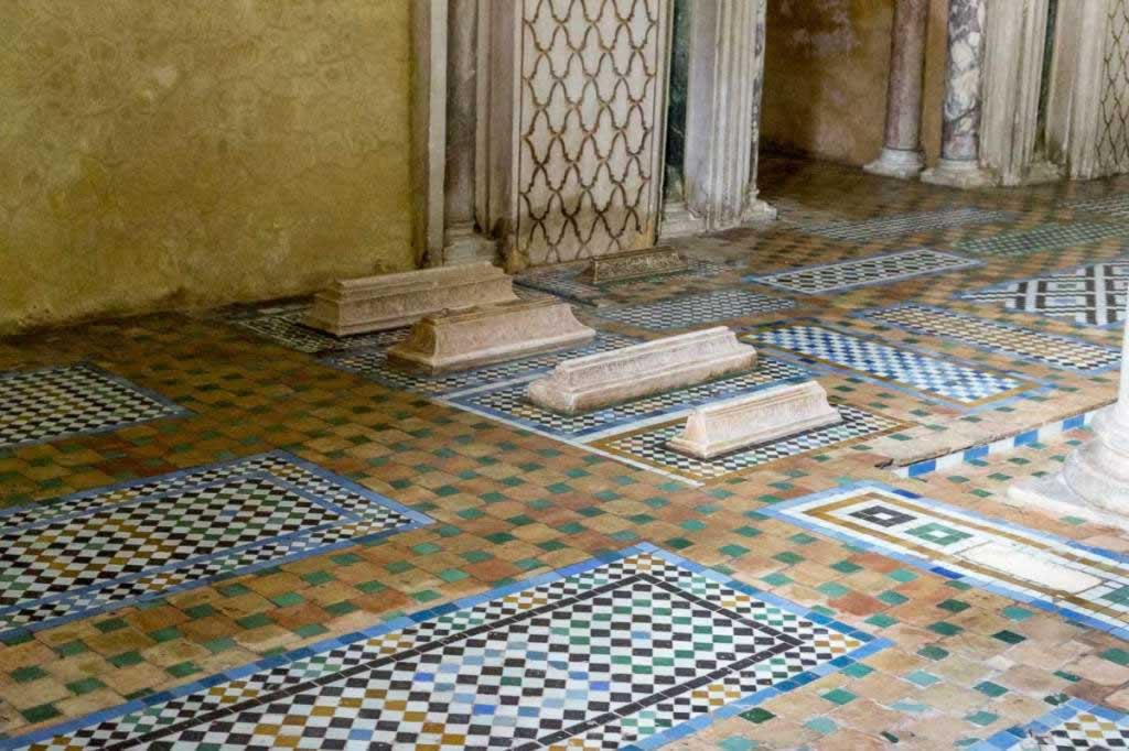 saadian tombs little stones