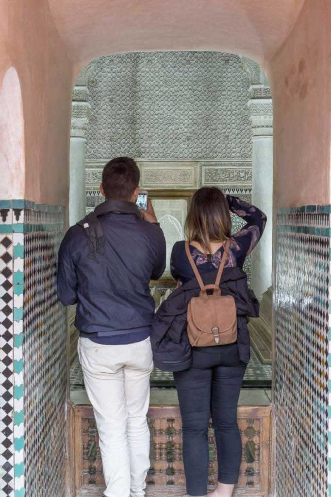 saadian tombs photos