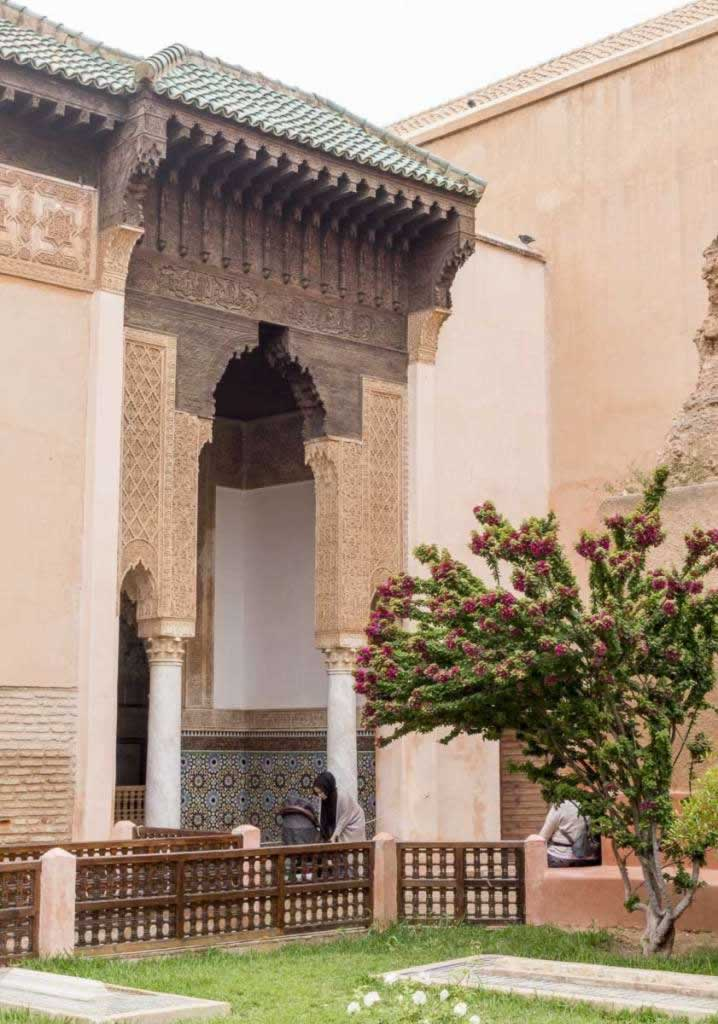 saadian tombs visit