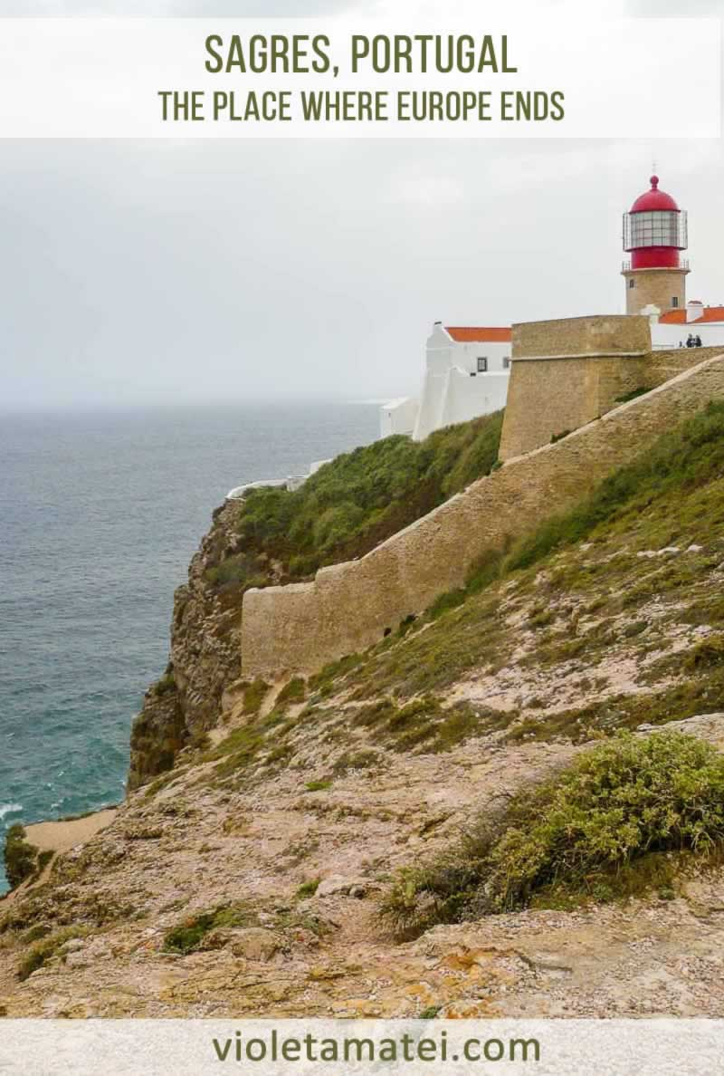 Sagres Portugal is one of the most beautiful places in Europe. It is very close to Cape Saint Vincent, the southwesternmost point of this continent.