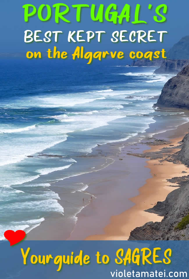 SEa, beach and coastline in Algarve, Portugal