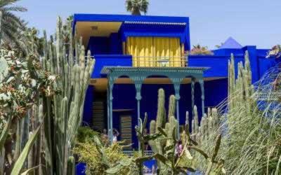 Jardin Majorelle Marrakech – Beautiful in Blue