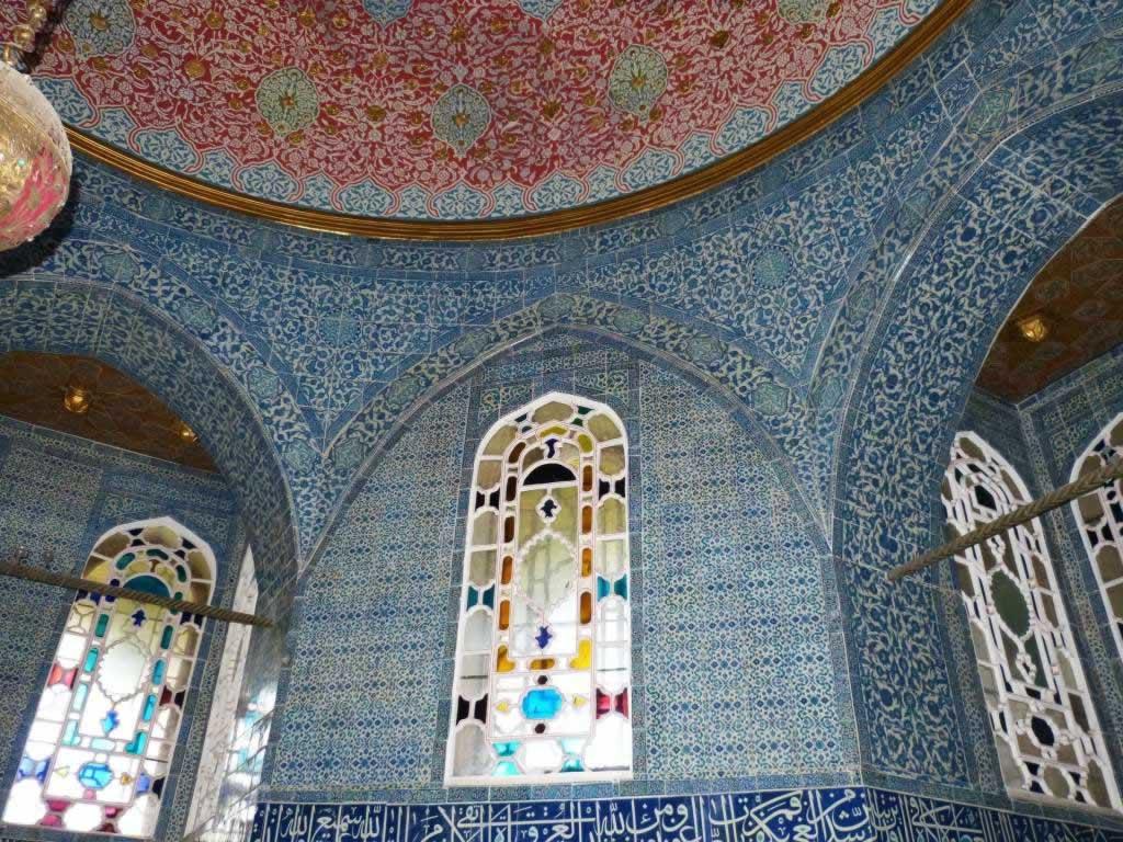 topkapi mosaic walls