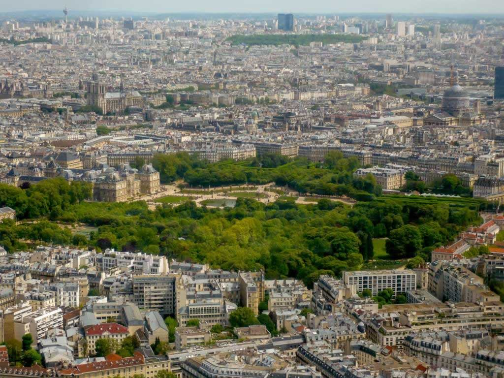 montparnasse tower jardins tuilleries
