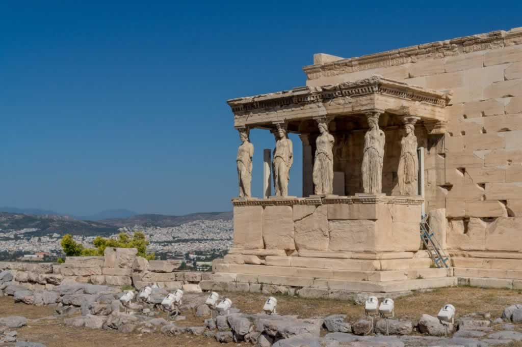 The Erechteion of Acropolis
