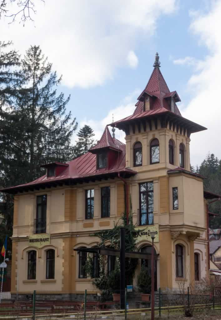 House in Sinaia Romania