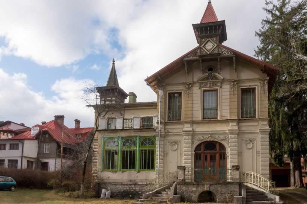 Old villa in Sinaia Romania