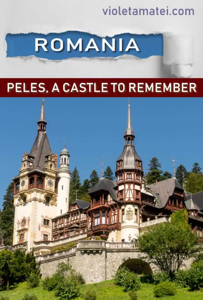 Peles Castle in Romania, a must-see tourist objective