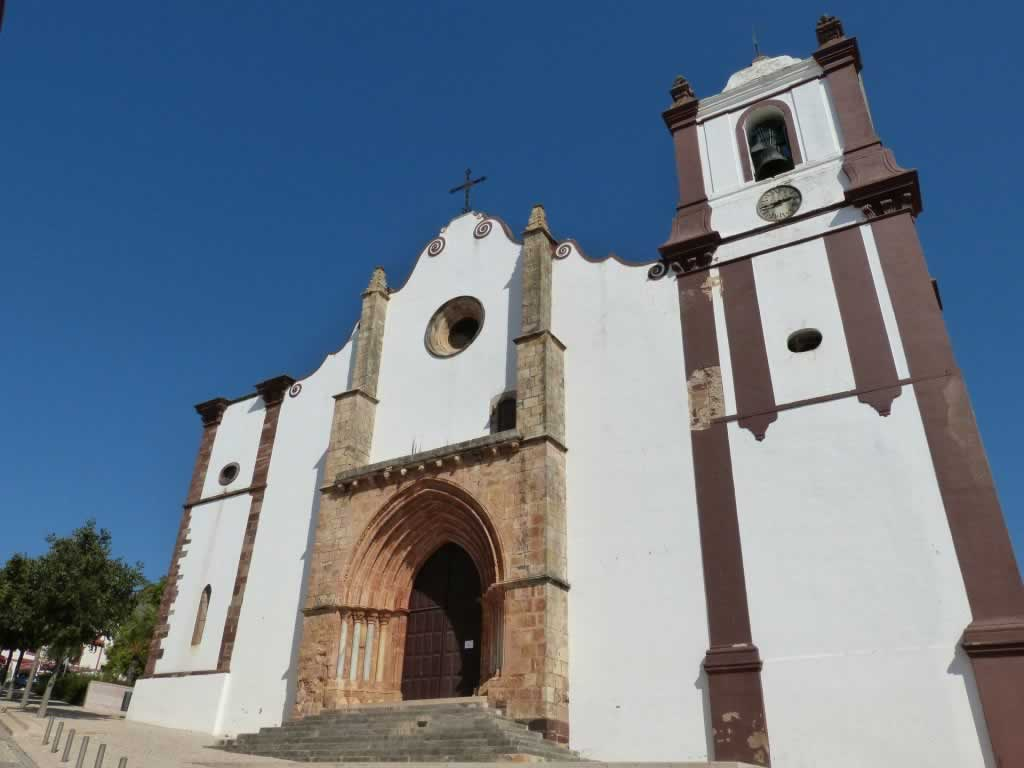 baroque church silves algarve