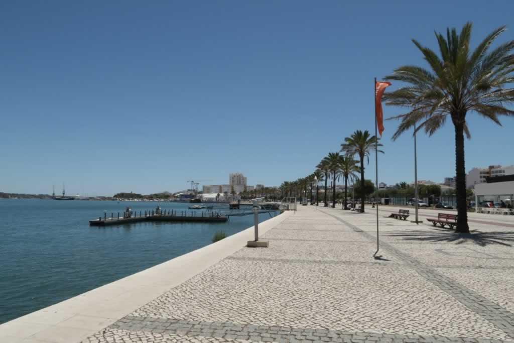 Portimao Algarve Portugal promenade