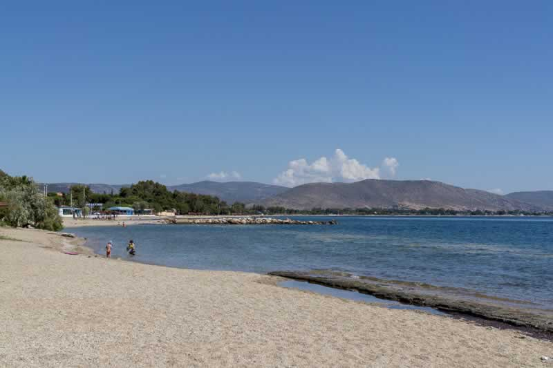 Nea Makri Beach Near Athens, Greece