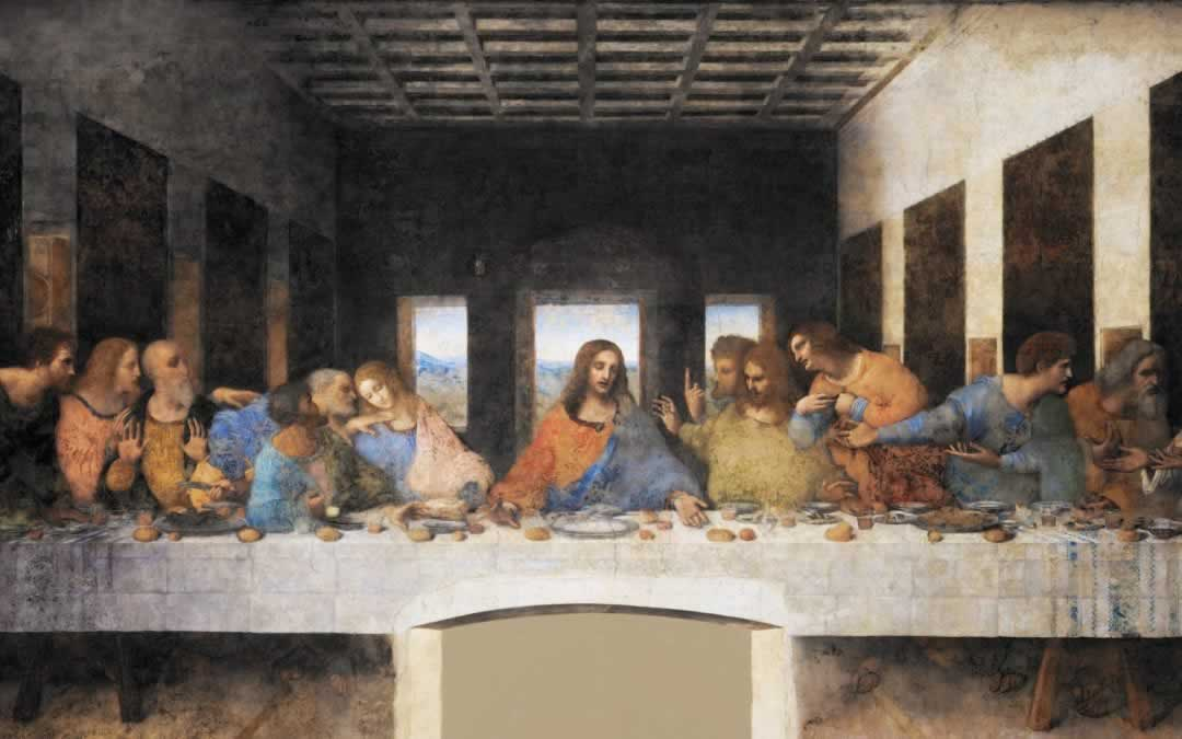 The Last Supper Wall Painting by Leonardo da Vinci in Milan
