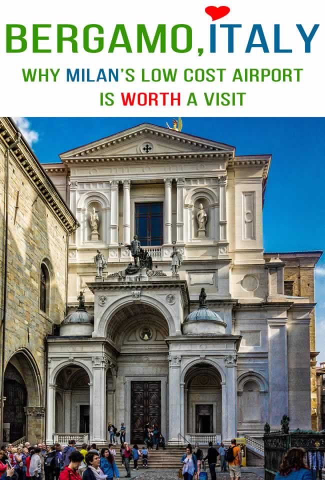 Bergamo Italy, a great idea for your next travel destination in Italy