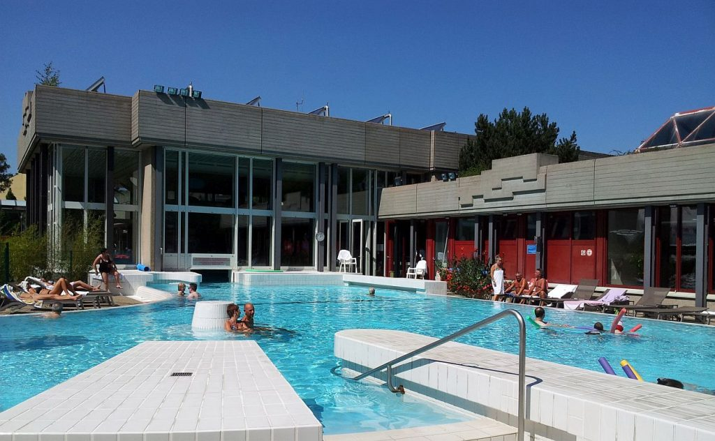 Mondorf, Luxembourg, swimming pool with natural mineral water