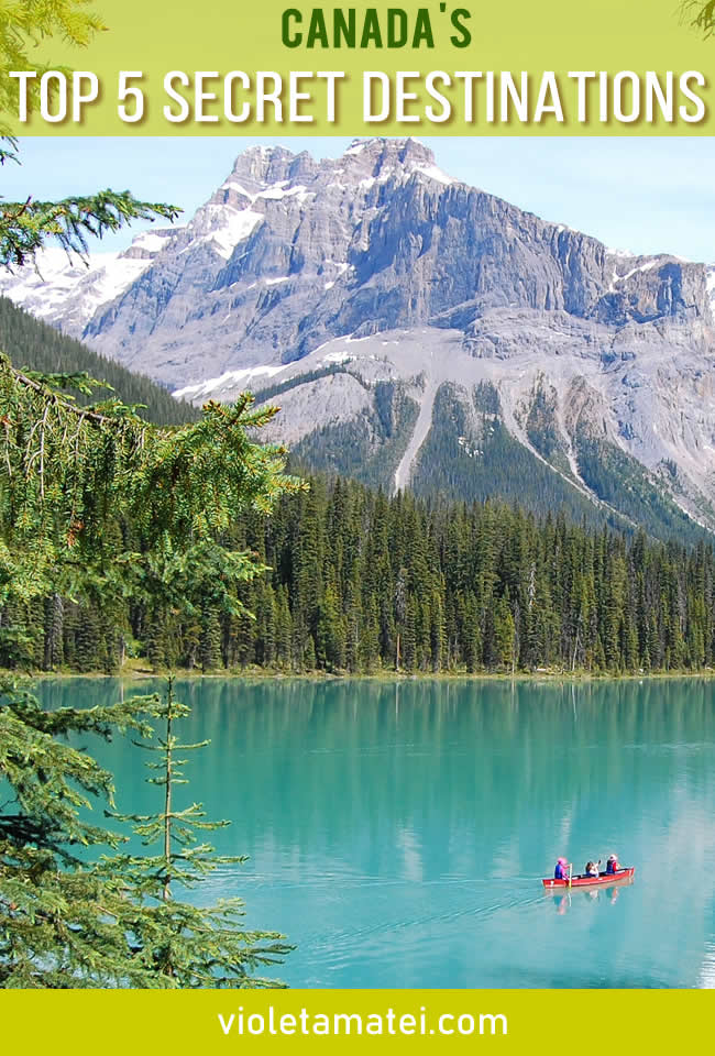 The top 5 secret destinations in Canada that will leave you in awe.