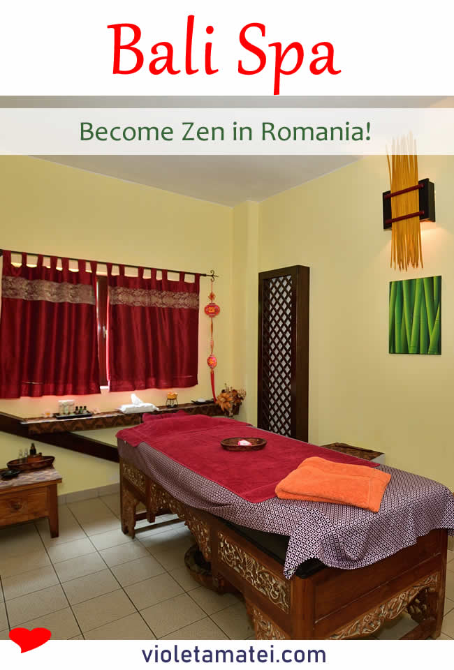 Bed in Bali Spa Romania