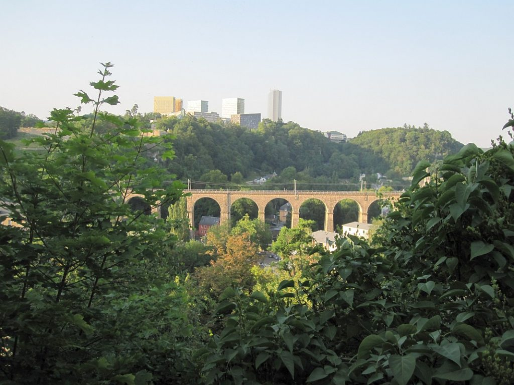 Luxembourg and its beautiful bridges