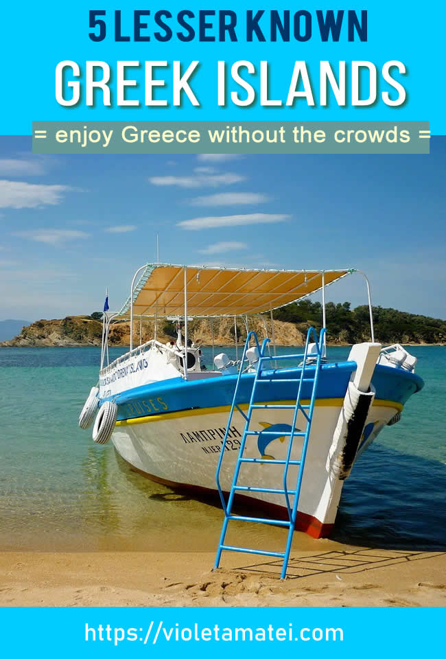 Five Greek islands for relaxed vacations without the crowds