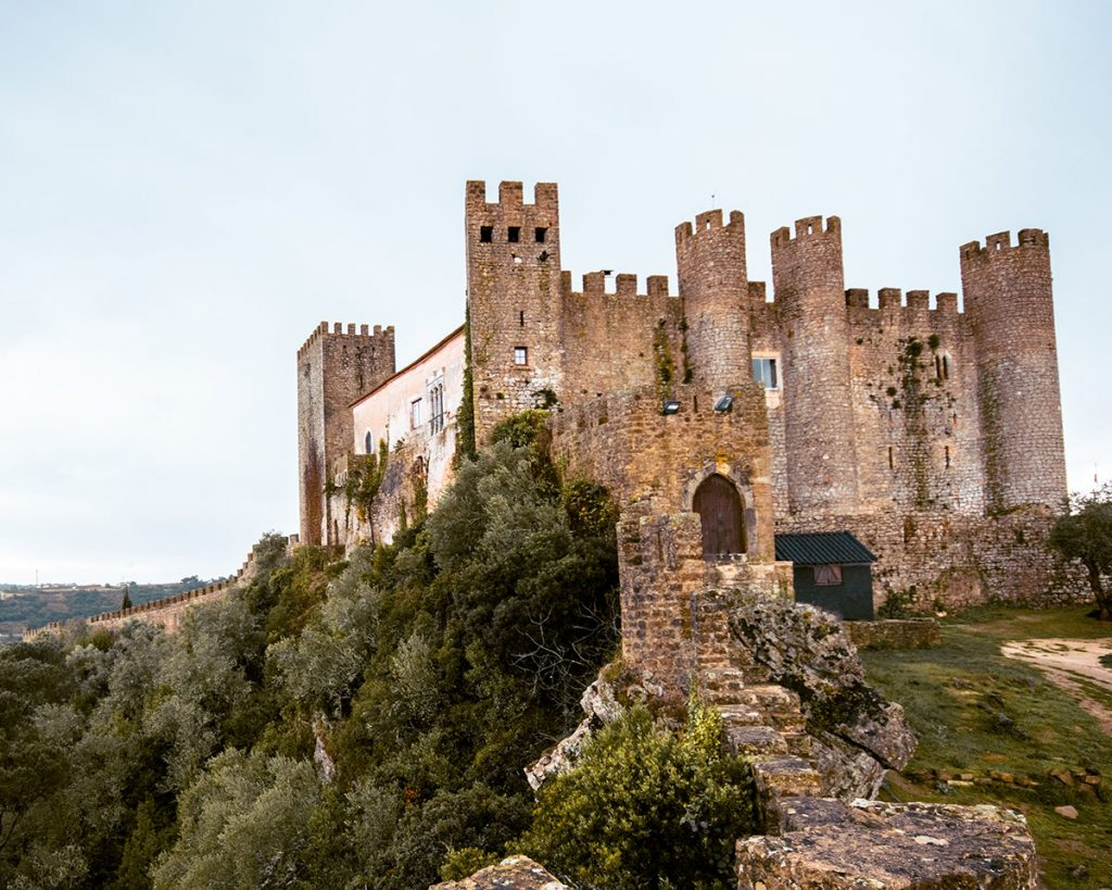 Obidos Castle Portugal, now a cool accommodation option