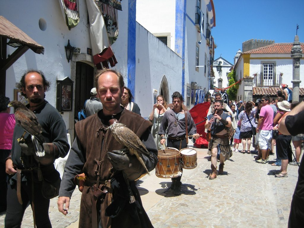 Obidos medieval fair is one of the reasons why you should visit this town in Portugal