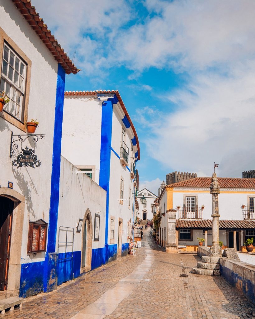 Obidos Portugal is one of the most charming places to visit around Lisbon.