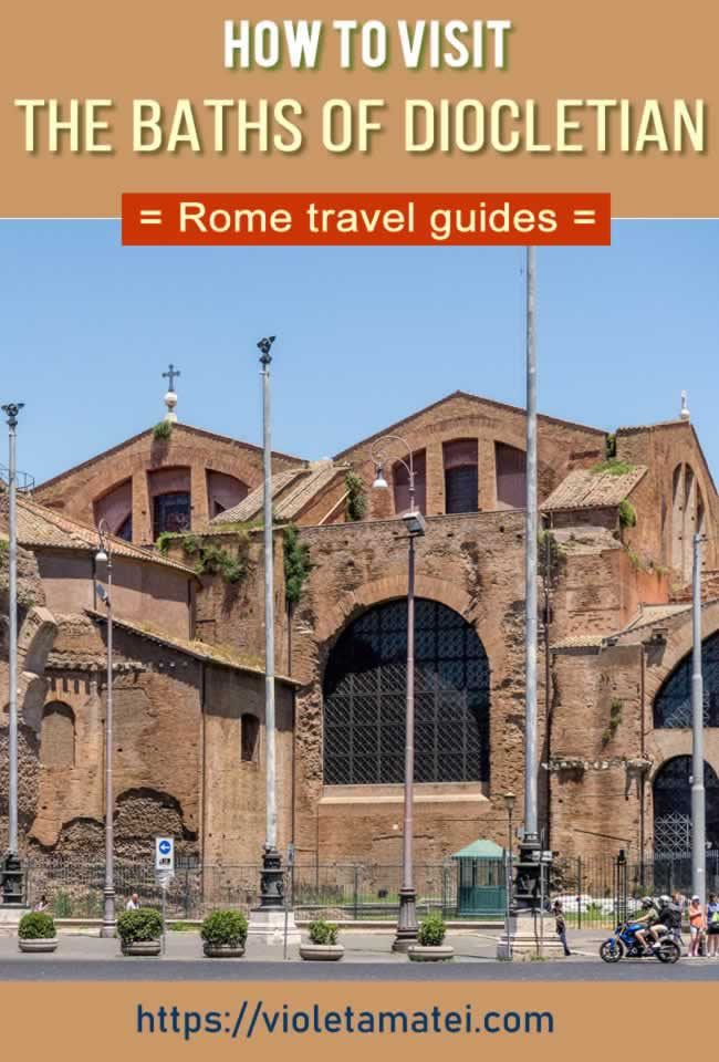 THe Baths of Diocletian are among the best places to visit in Rome. Part of the National Roman Museum, the Baths of Diocletian are home to hundreds of sculptures and ancient artifacts. #rometravel #europetravel