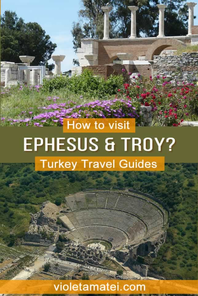How to visit Ephesus and Troy in Turkey