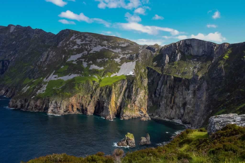 Slieve League Cliffs in County Donegal, Ireland