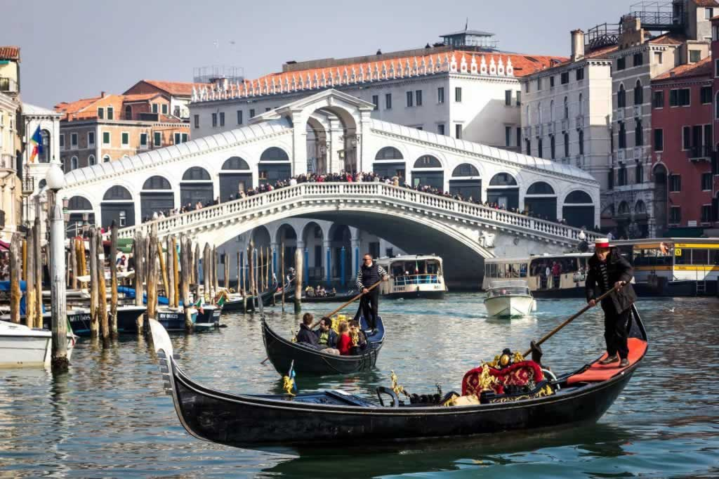 Venice as part of a two-week Northern Italy itinerary