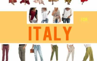 What To Wear in Italy – A Travel Packing List for Any Season