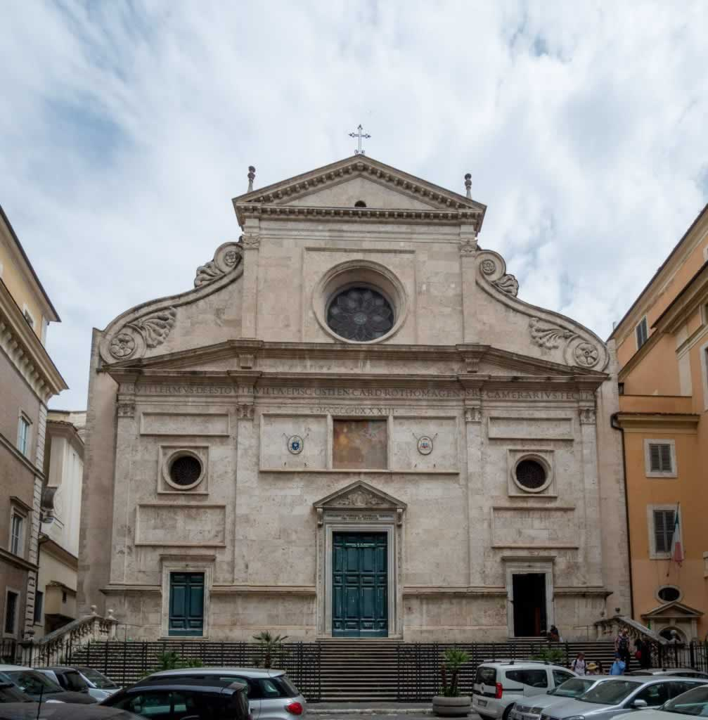 Sant' Agostino Church in Rome