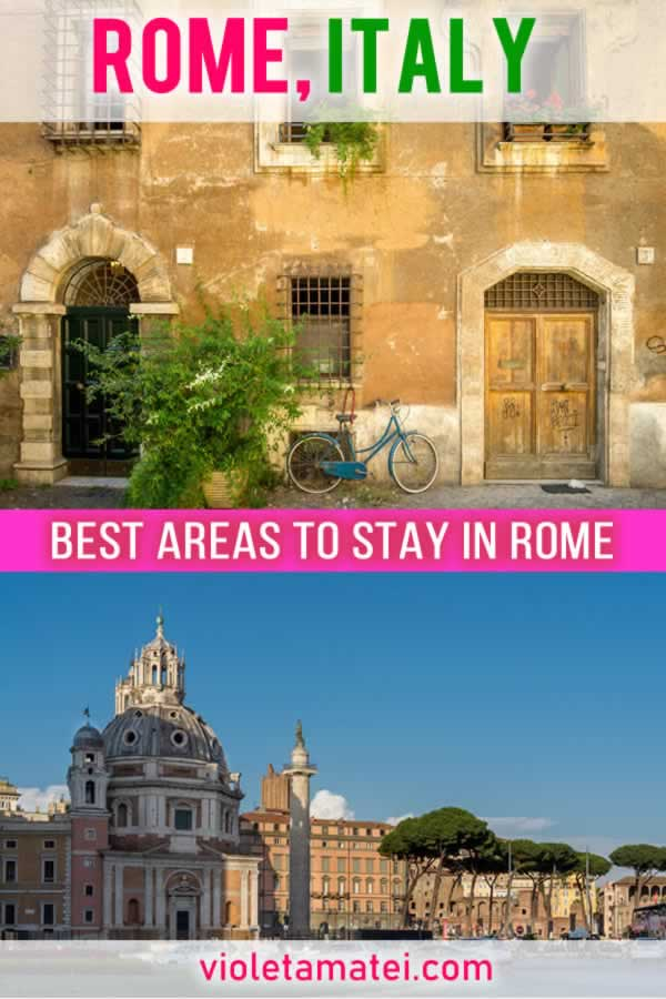 Best neighborhoods to stay in Rome