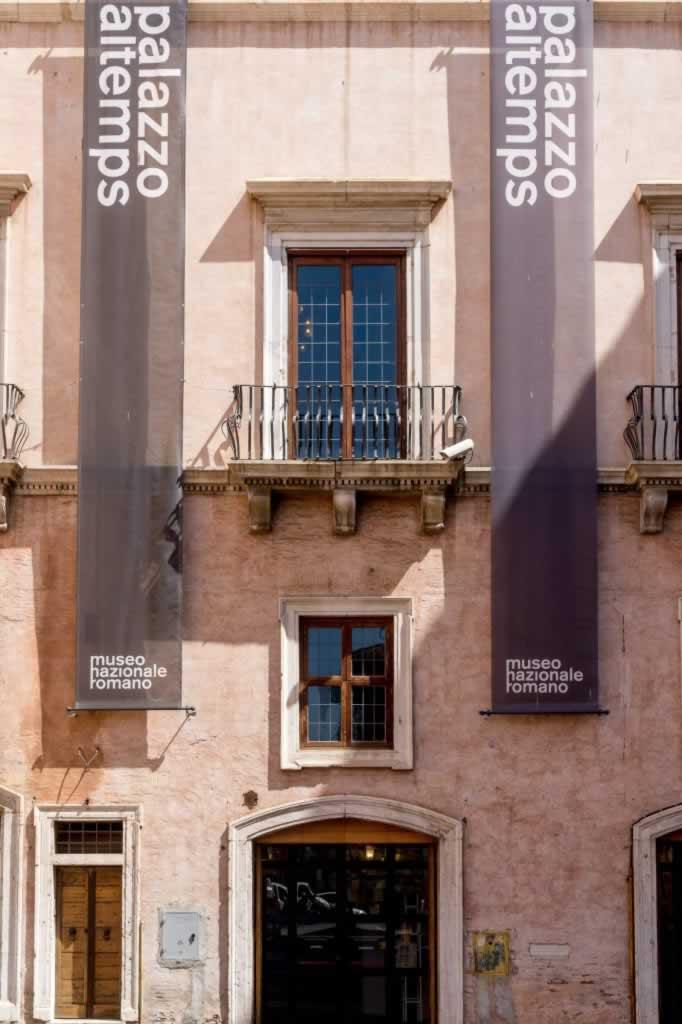 Palazzo Altemps in Roma, near Piazza Navona