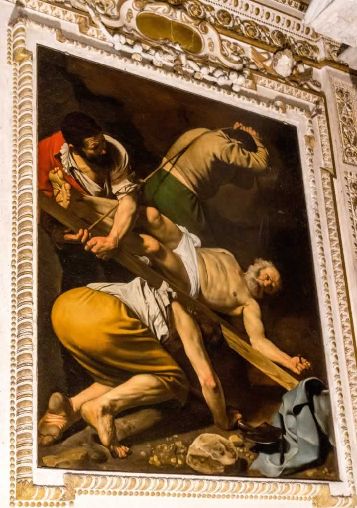Caravaggio paintings in Rome's churches
