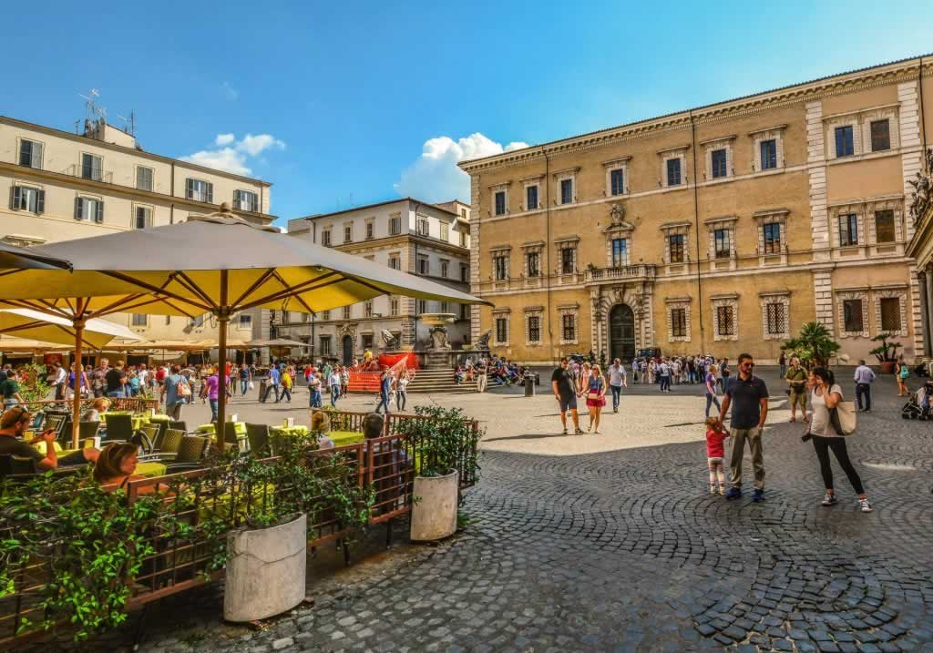 Trastevere neighborhood, one of the best places to stay in Rome, Italy
