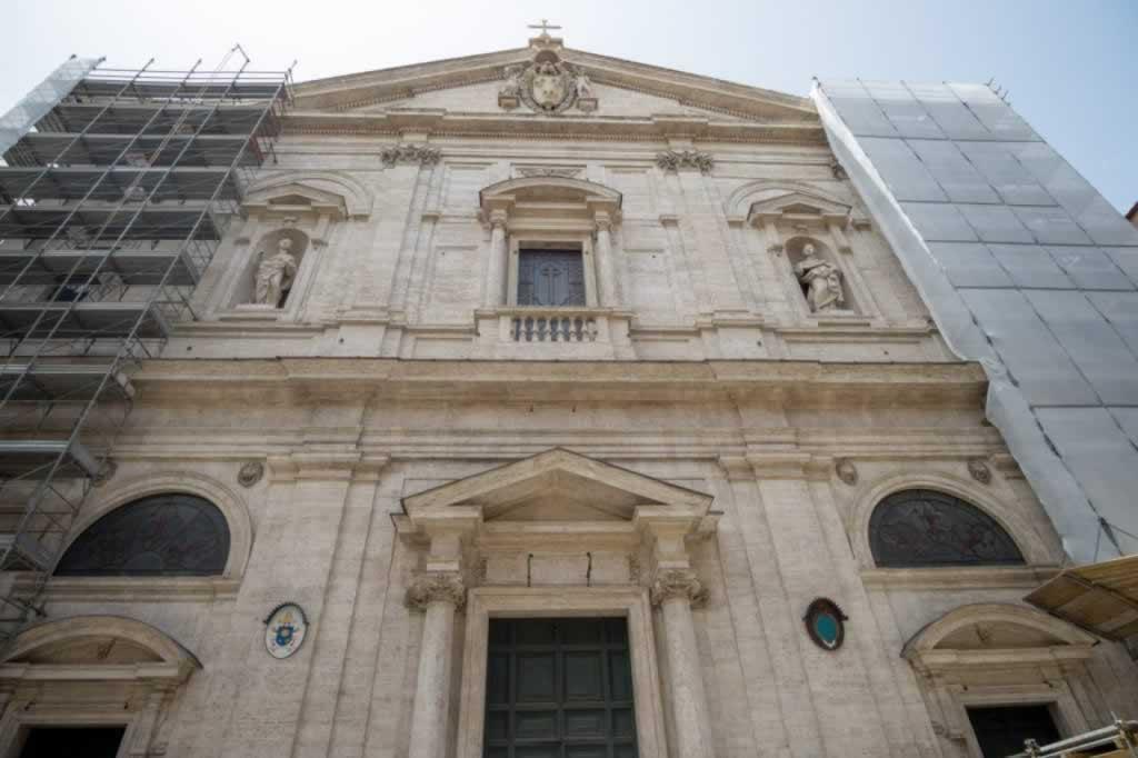 San Luigi dei Francesi, the French church in Rome, home to three Caravaggio paintings