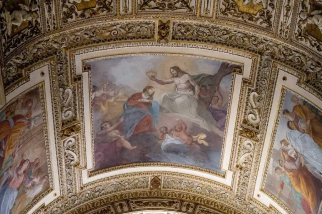 San Luigi dei Francesi Church Painted Ceiling