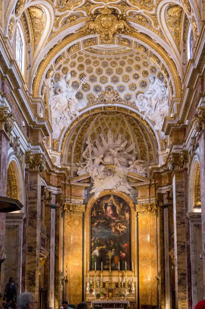 SAn Luigi dei FRancesi is one of the most beautiful churches in Rome - a detailed visiting guide
