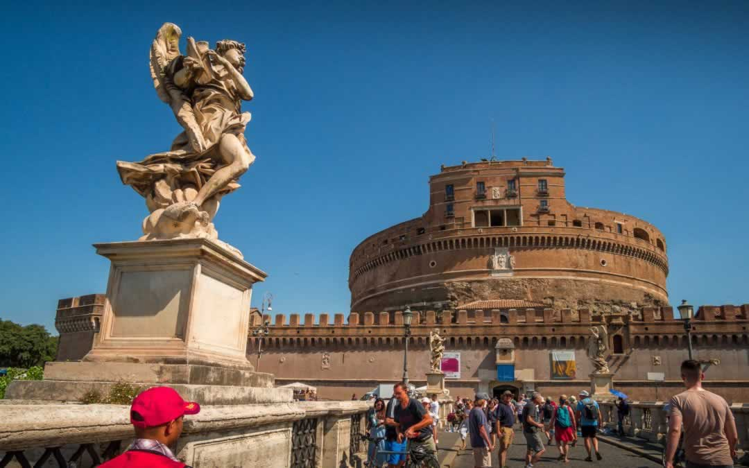 Castel Sant' Angelo in Rome – Hadrian's Tomb, Repurposed