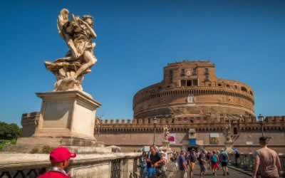 Castel Sant' Angelo in Rome – Hadrian's Tomb, Repurposed