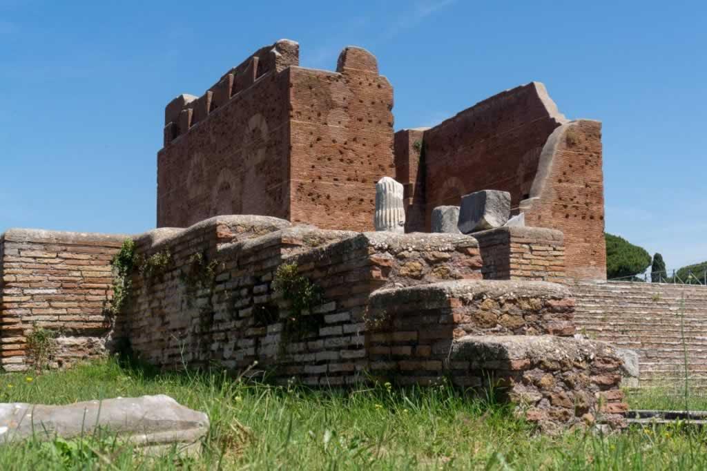 The Capitolium in Ostia Antica