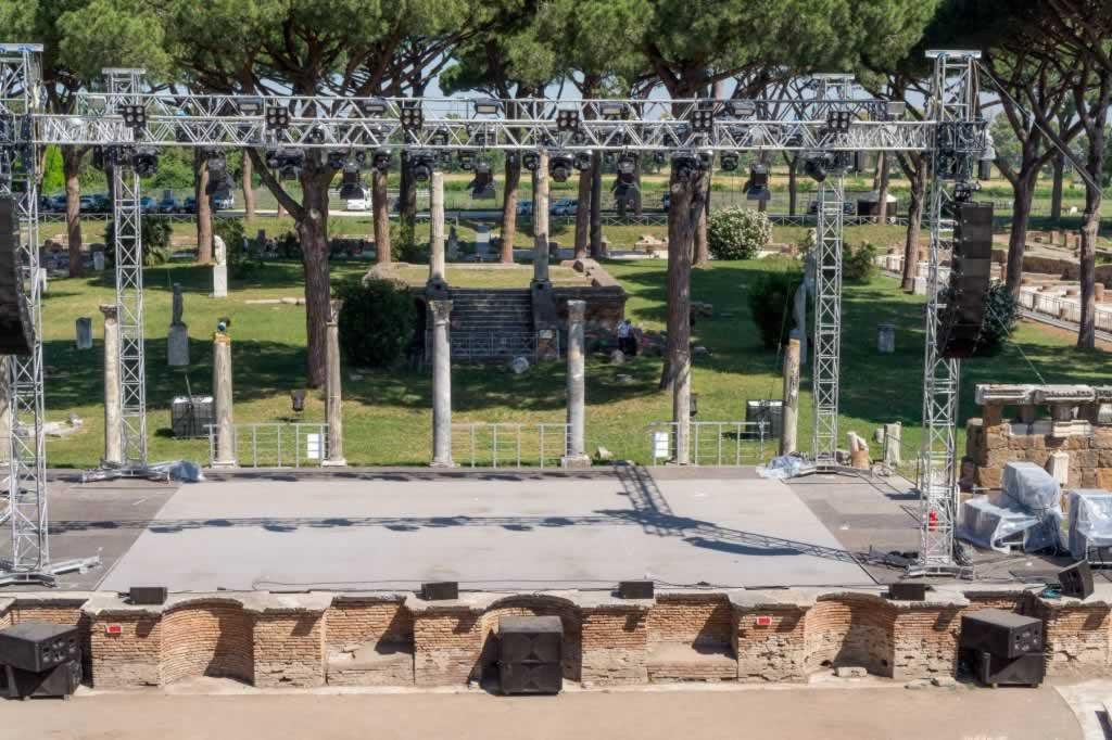 Ostia Antica Concert Stage