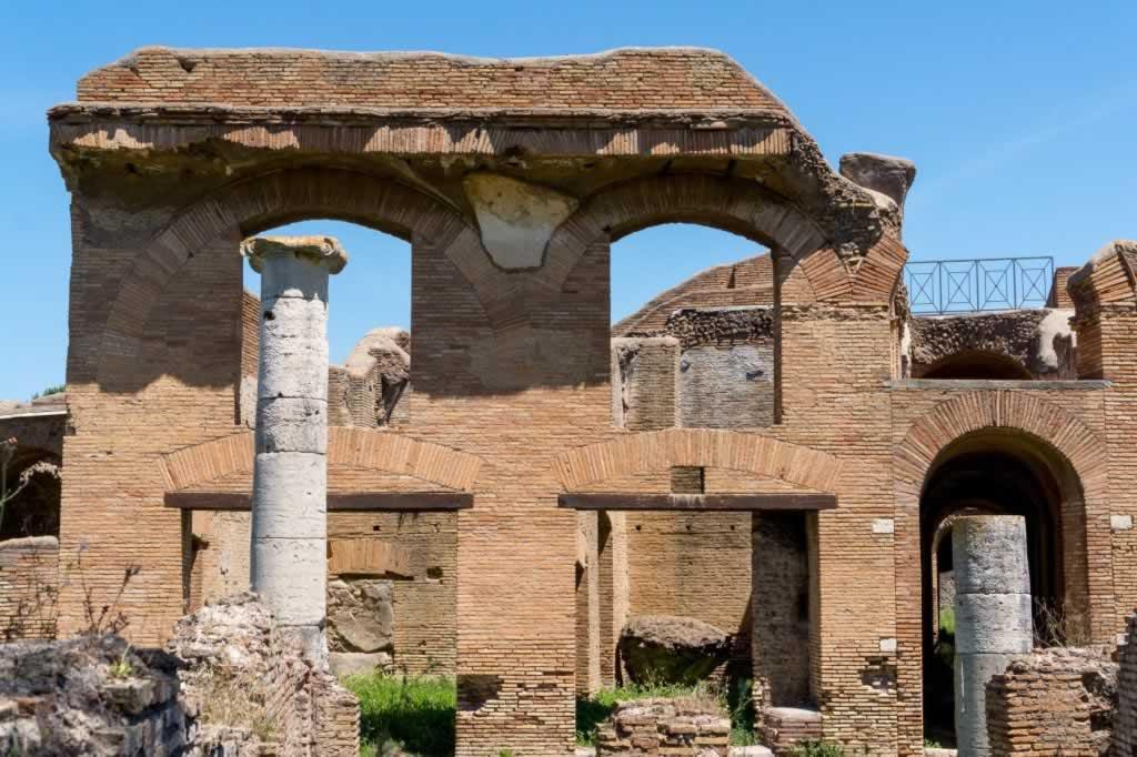 Building Facade in Ostia Antica