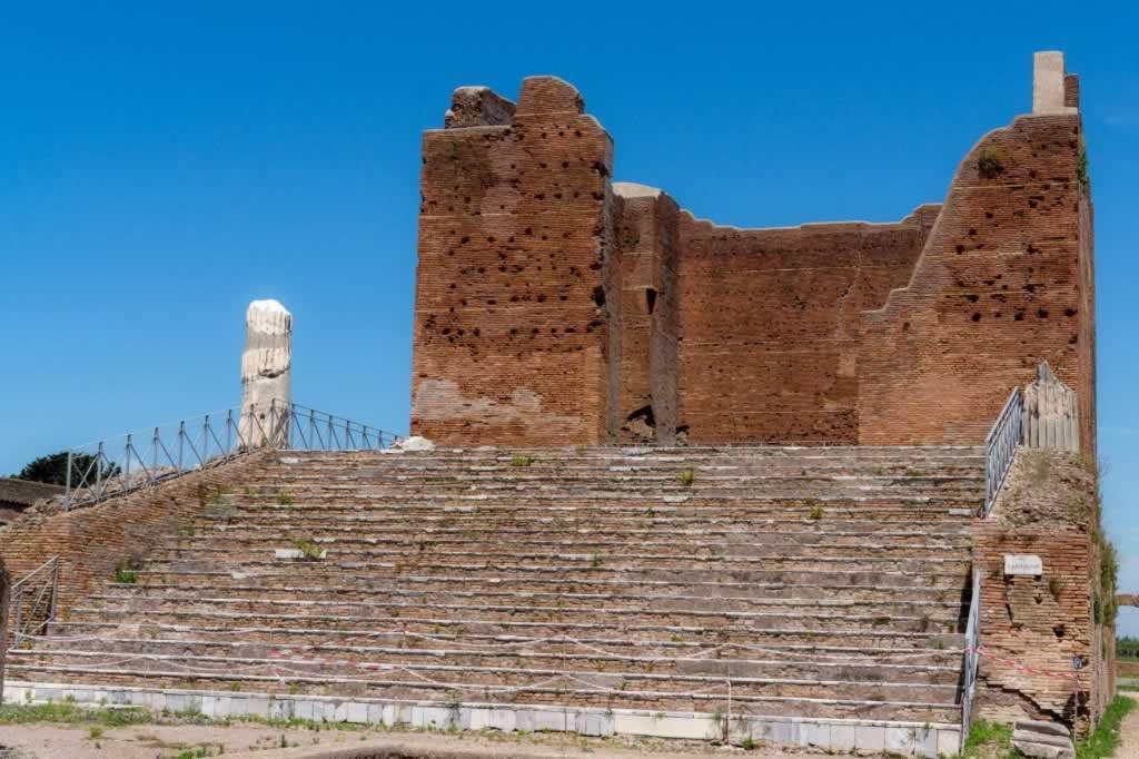 The Forum in Ostia Antica